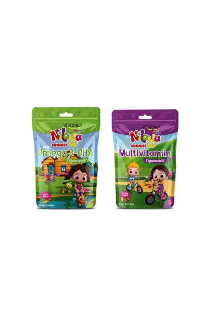 Voonka Niloya Multivitamin 60 Tablet+ Niloya Omega 3 Dha 60 Tablet
