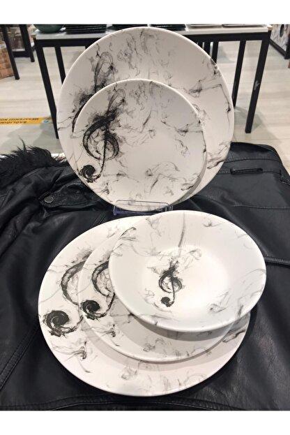 Keramika Yemek Takımı 18 Parça 6 Kişilik