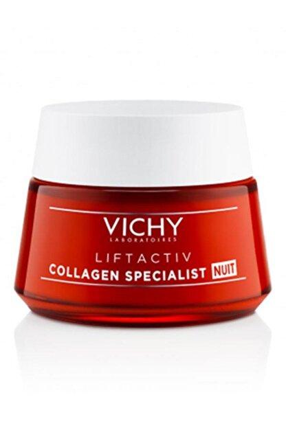 Vichy Liftactiv Collagen Specialist Night 50ml | Yaşlanma Karşıtı Gece Bakım Kremi