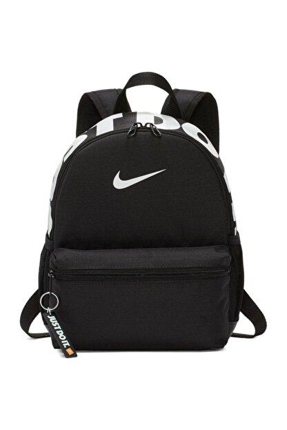 Nike Unisex Siyah Brasılıa Jdı Mını Backpack Sırt Çantası Ba5559-013