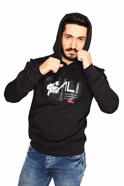 Bessa Sport Kapüşonlu Kanguru Cepli Sweatshirt Muhammed Ali Modeli