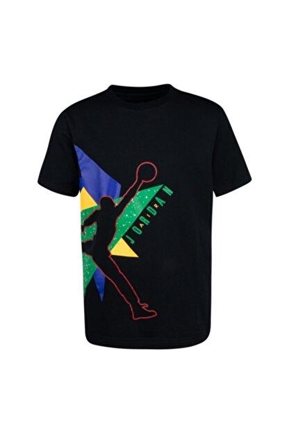 Nike Erkek Çocuk Siyah Jordan Jumbo Geo Tişört 95a064-023