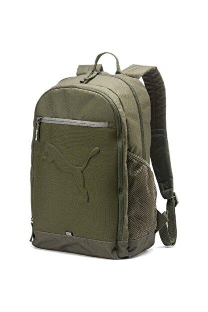 Puma Unisex Haki Buzz Backpack Sırt Çantası 07385136 47x34x17cm