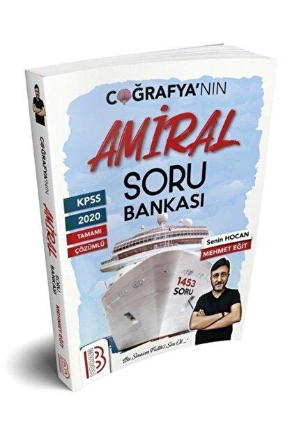 Benim Hocam Yayınları Kpss Tamamı Çözümlü Amiral Coğrafya Soru Bankası