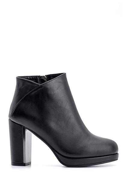 Derimod Kadın Siyah  Topuklu Bot