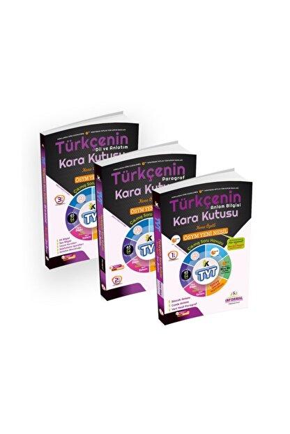 İnformal Yayınları 2020 Tyt Türkçenin Kara Kutusu Konu Özetli Soru Bankası Altın Set Paket