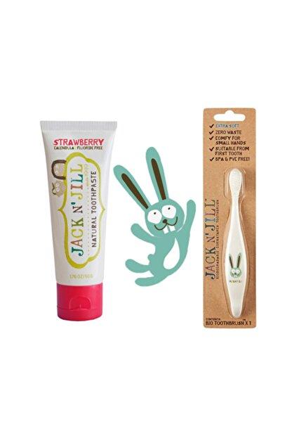 Jack N'Jill Diş Fırçası Ve Diş Macunu Seti (bunny & Çilek) Set