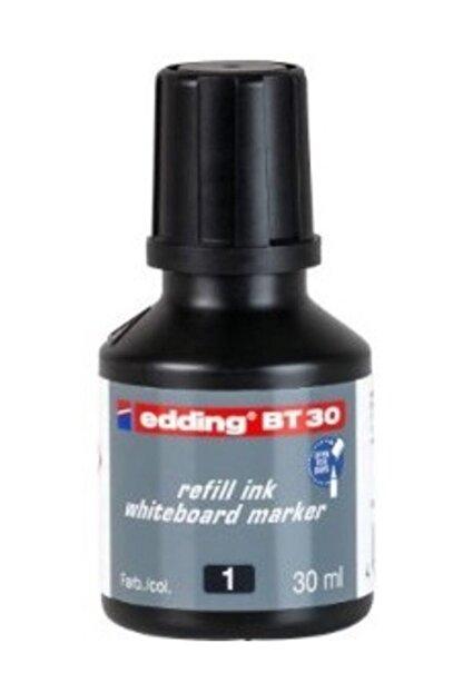 Edding BT30 Whiteboard Marker Ink Siyah Yazı Tahtası Kalemi Mürekkebi 30 ml