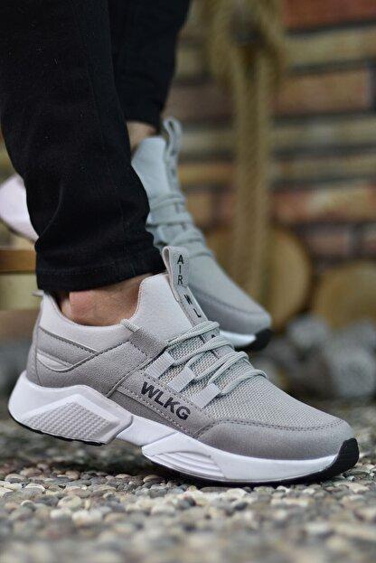 Riccon Erkek Gri Buz  Sneaker 0012072