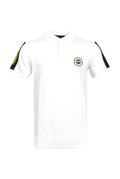 Fenerbahçe Erkek Beyaz Trıbun Basıc Polo
