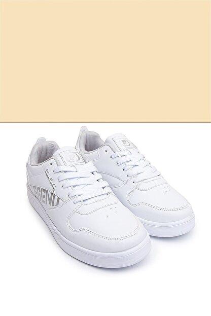 Pierre Cardin PC-30487 Beyaz Kadın Spor Ayakkabı
