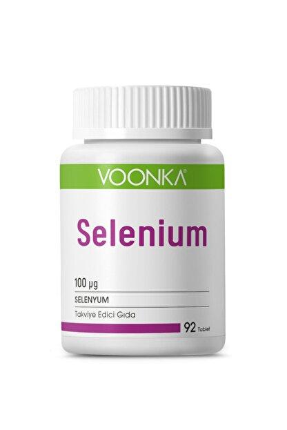 Voonka Selenium 100 mg 92 Kapsül
