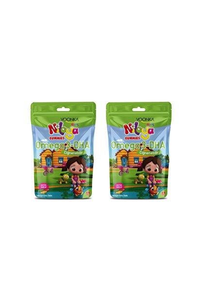 Voonka Kids Niloya Gummies Omega 3-dha 60 Adet x 2 Adet