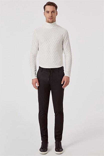 Efor ATP 015 Rahat Kesim Siyah Spor Pantolon