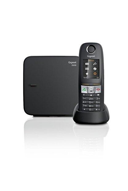 Gigaset E630 Siyah Telsiz Dect Telefon Işıklı Renkli Ekran Sms