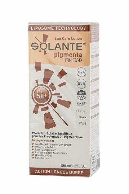 Solante Pigmenta Tinted Spf 50+ Losyon
