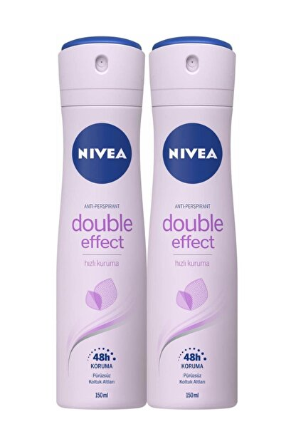 Nivea Int Nıvea Deo Bayan 150 Ml Double Effect X2