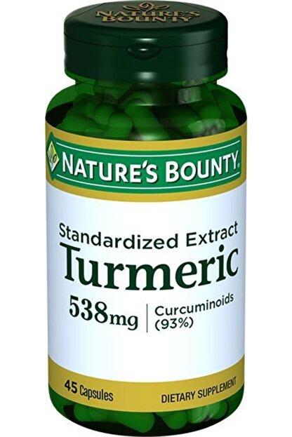 Natures Bounty Turmeric Standardized Extract 538 Mg 45 Kapsül