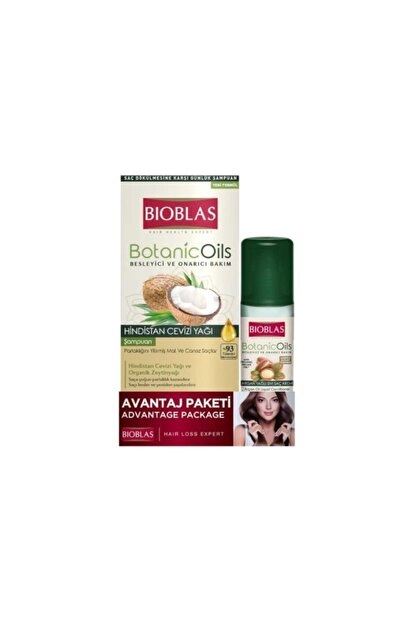 Bioblas Botanic Oils Hindistan Özlü Şampuan 360 Ml + 200 Ml Hediye