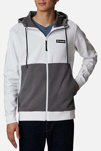 Columbia Erkek Beyaz Cs0090 Mountaın Vıew Fz Sweatshırt