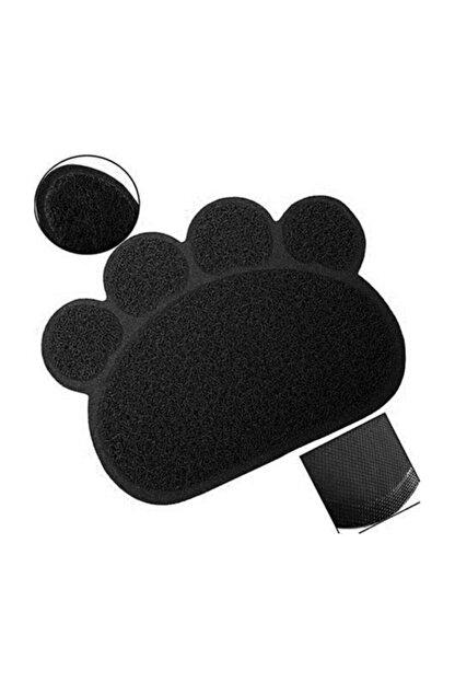 Petbox Cat Litter Kedi Tuvalet Önü Paspası Patili Siyah