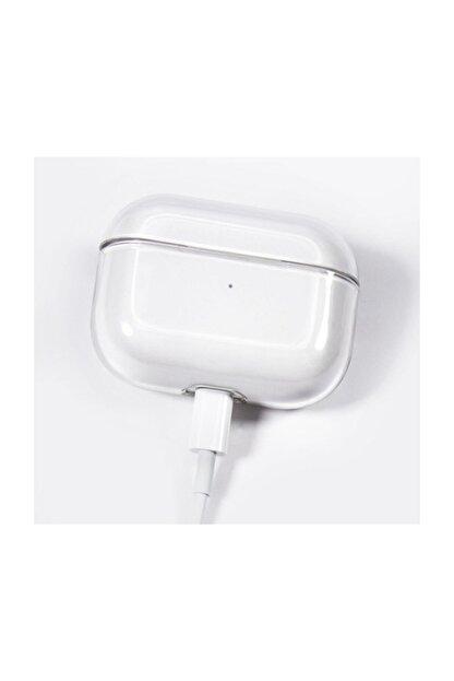 Telehome Airpods Pro Şeffaf Kılıf Ultra Ince Slim Airpodspro