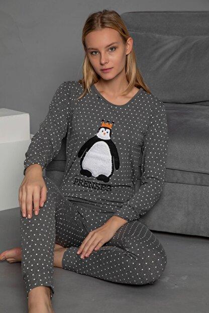 Strawberry Kadın Füme  Pijama Takim
