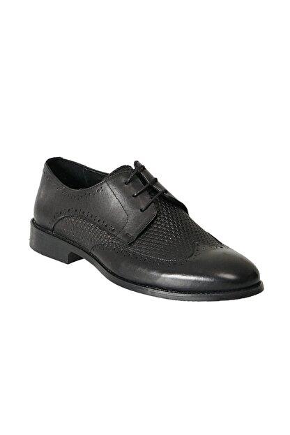 Altınyıldız Classics Erkek Siyah Klasik Deri Ayakkabı