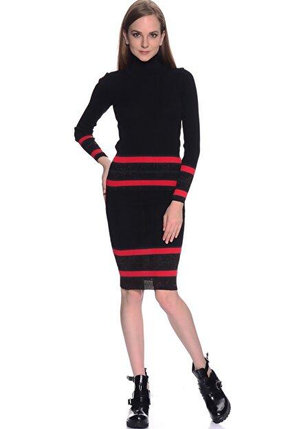 LİMON COMPANY Kadın Siyah Kalem Etek 501961484