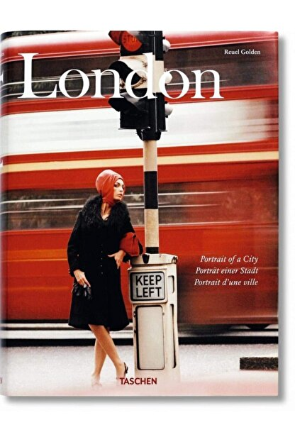 Taschen London. Portrait Of A City Hardcover - Kitap
