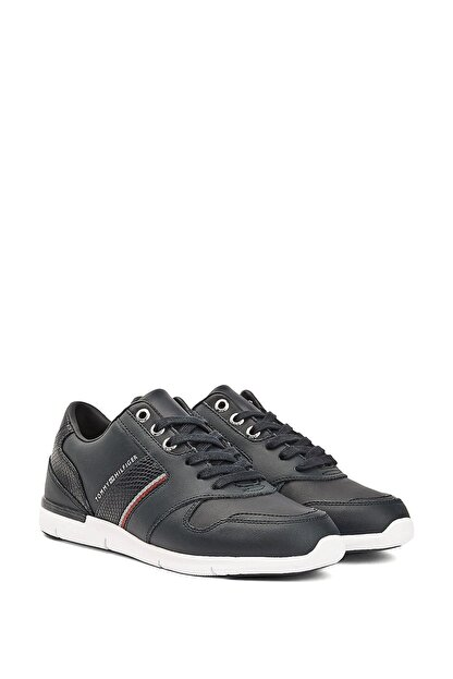 Tommy Hilfiger Kadın Lacivert Corporate Lightweight Sneaker Fw0fw05244