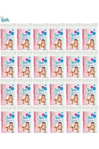 İpek Bebek Temizleme Pamuğu 1440 Adet (24pk*60)