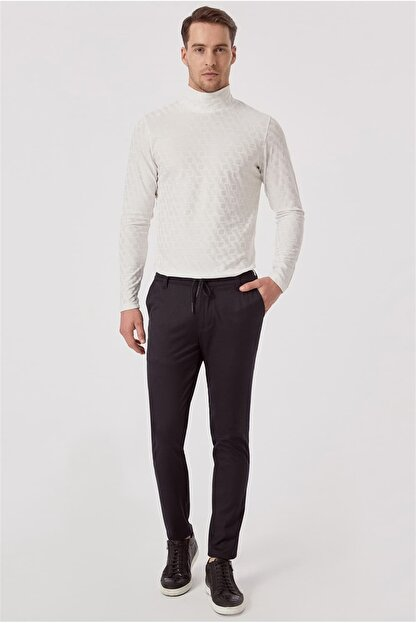 Efor ATP 015 Rahat Kesim Lacivert Spor Pantolon