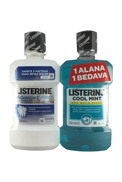 Listerine Advanced White Ağız Çalkalama Suyu 250 ml