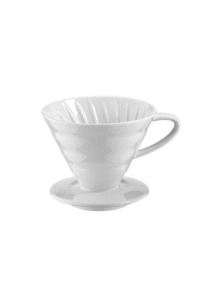 Epinox V60 02 Beyaz Kahve Demleme Aparatı Seramik 3605002100