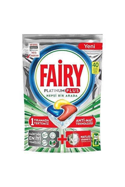 Fairy Platinum Plus Bulaşık Makinesi Deterjanı 40 Tablet