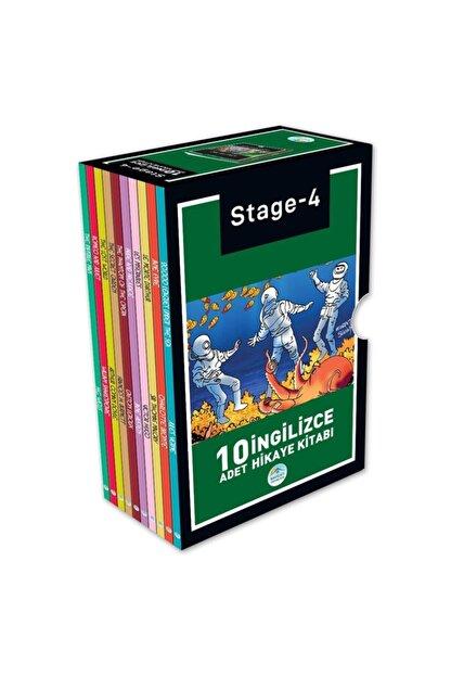 Mavi Çatı Yayınları Stage-4 Ingilizce Hikaye Seti 10 Kitap Maviçatı Yayınları