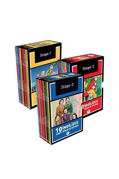 Mavi Çatı Yayınları Ingilizce Hikaye Seti 30 Kitap (stage 1-2-3) Maviçatı Yayınları