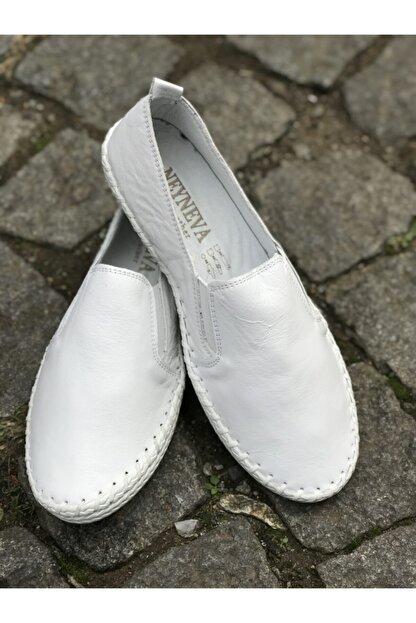 FREEFOUR Hakiki Deri Günlük Rahat Kadın Ayakkabı