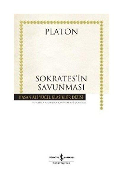 TÜRKİYE İŞ BANKASI KÜLTÜR YAYINLARI Sokrates'in Savunması (karton Kapak)
