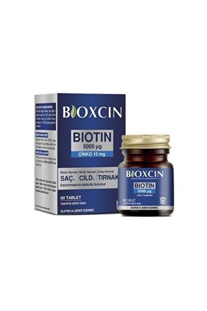 Bioxcin Biotin 5000 Mcg Takviye Edici Gıda 60 Tablet