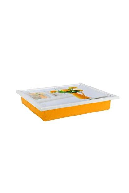Yedi Home&Decor Keyif Tepsisi_yellow Jug (bilgisayar Ve Kahvaltı Tepsisi)