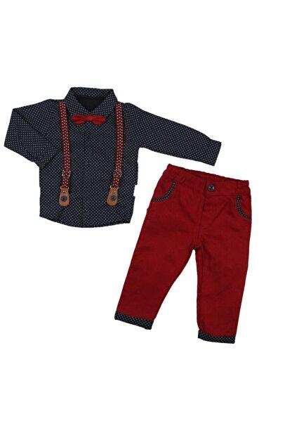 Necix's Jojovu Erkek Yonca Desen Kırmızı Takım