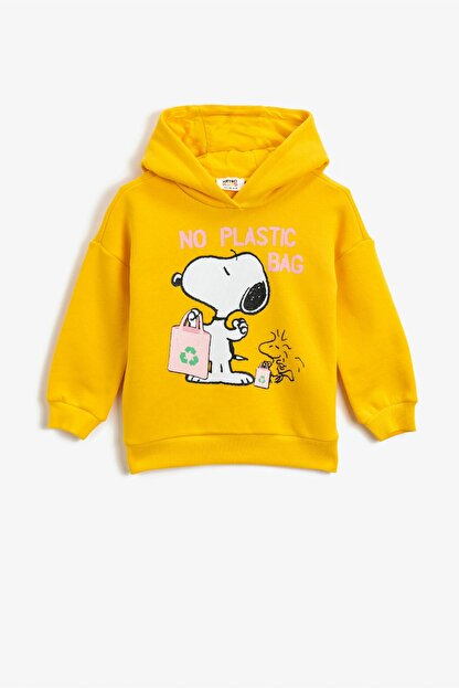 Koton Hardal  Kız Çocuk Sweatshirt