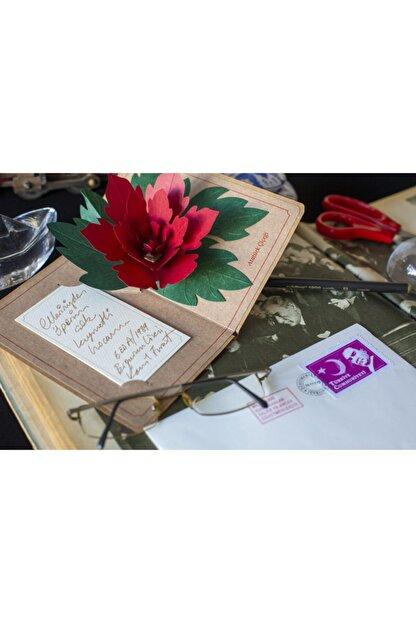 Kağıtistan Atatürk Çiçeği 3d Popup Hediye Karpostal Ve Zarfı