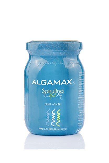 ALGAMAX Spirulina Kapsül 90 Adet X 500 Mg