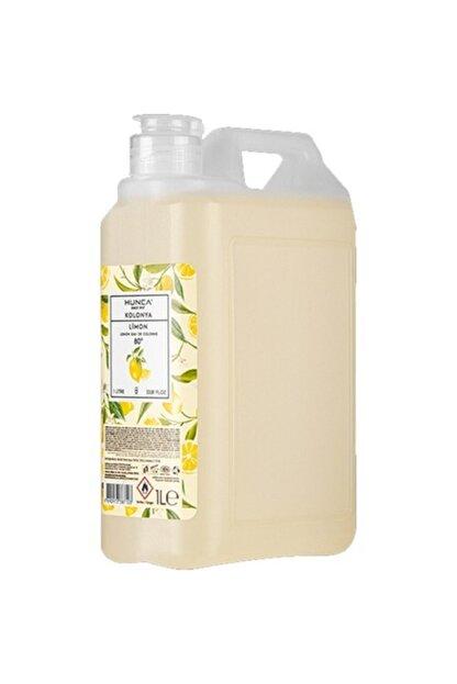 Hunca Limon Kolonyası 1 Litre 80 Derece