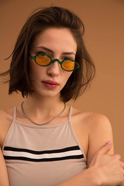 Bilge Karga Baraque Green Yellow Güneş Gözlüğü