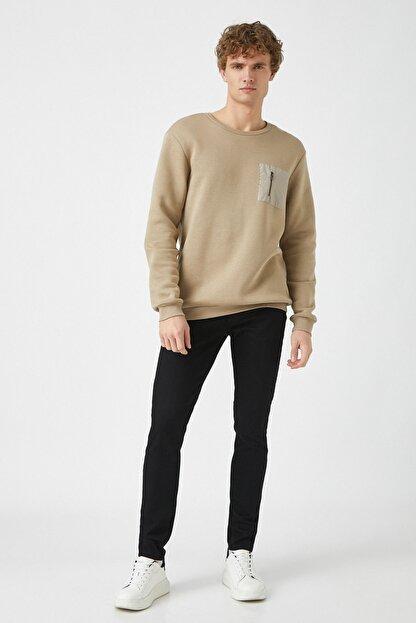Koton Erkek Siyah Jeans 1KAM43002LD