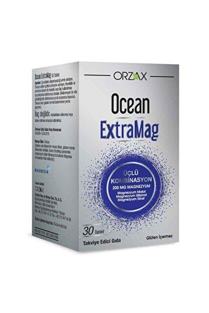 Orzax Ocean Extramag Magnezyum 200 Mg 30 Tablet